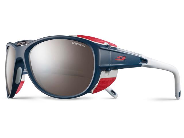 Julbo Expl**** 2.0 Spectron 4 Sunglasses Matt Blue/Red-Brown Flash Silver
